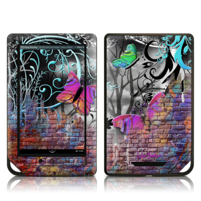 Barnes and Noble NOOK Tablet Skin - Butterfly Wall