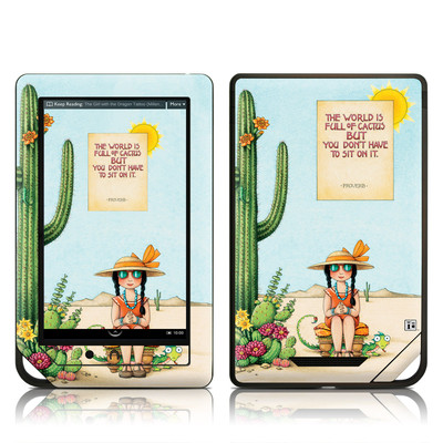 Barnes and Noble NOOK Tablet Skin - Cactus