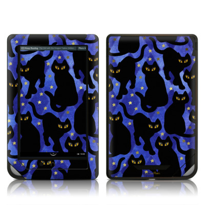 Barnes and Noble NOOK Tablet Skin - Cat Silhouettes
