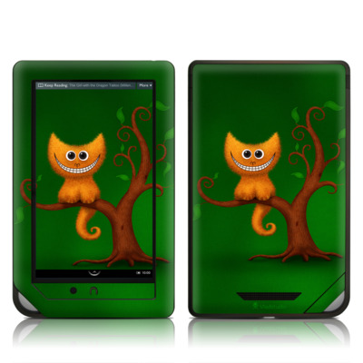 Barnes and Noble NOOK Tablet Skin - Cheshire Kitten