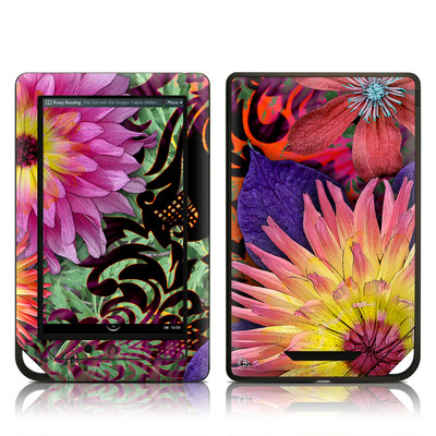 Barnes and Noble NOOK Tablet Skin - Cosmic Damask