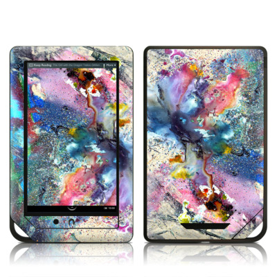 Barnes and Noble NOOK Tablet Skin - Cosmic Flower