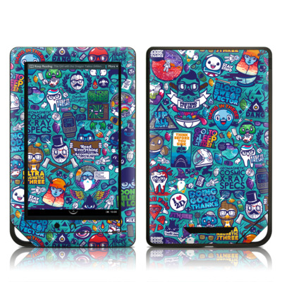 Barnes and Noble NOOK Tablet Skin - Cosmic Ray