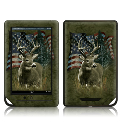 Barnes and Noble NOOK Tablet Skin - Deer Flag