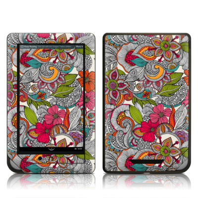 Barnes and Noble NOOK Tablet Skin - Doodles Color