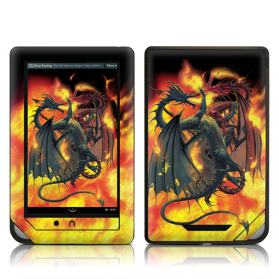 Barnes and Noble NOOK Tablet Skin - Dragon Wars