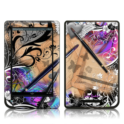 Barnes and Noble NOOK Tablet Skin - Dream Flowers