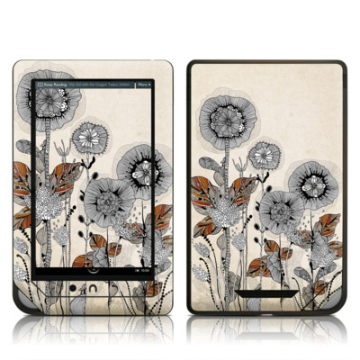 Barnes and Noble NOOK Tablet Skin - Four Flowers