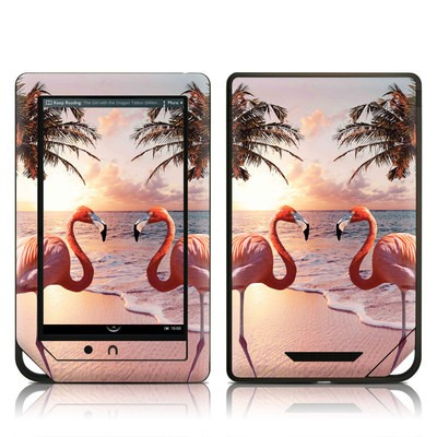 Barnes and Noble NOOK Tablet Skin - Flamingo Palm