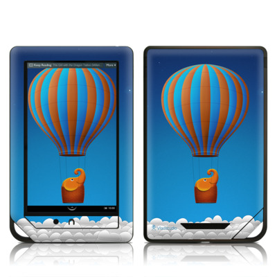 Barnes and Noble NOOK Tablet Skin - Flying Elephant