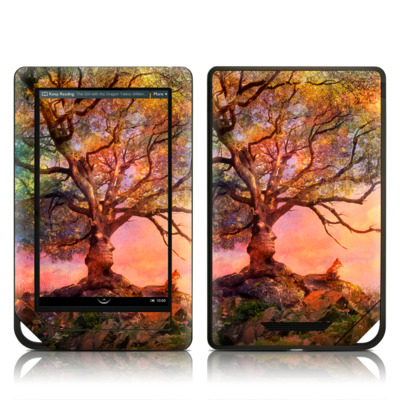 Barnes and Noble NOOK Tablet Skin - Fox Sunset
