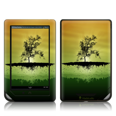 Barnes and Noble NOOK Tablet Skin - Flying Tree Amber