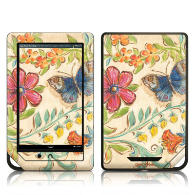 Barnes and Noble NOOK Tablet Skin - Garden Scroll