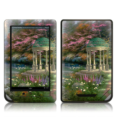 Barnes and Noble NOOK Tablet Skin - Garden Of Prayer