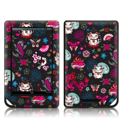 Barnes and Noble NOOK Tablet Skin - Geisha Kitty