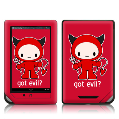Barnes and Noble NOOK Tablet Skin - Got Evil
