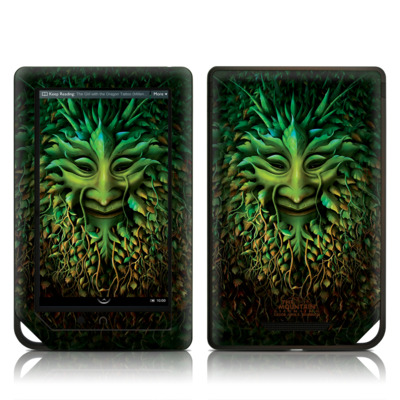 Barnes and Noble NOOK Tablet Skin - Greenman