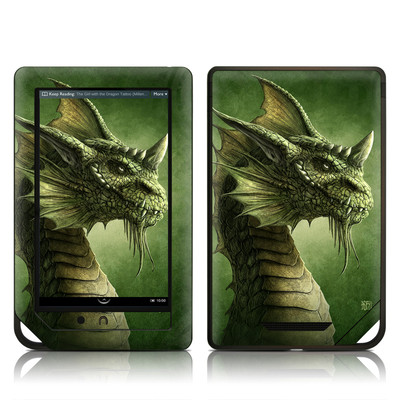 Barnes and Noble NOOK Tablet Skin - Green Dragon
