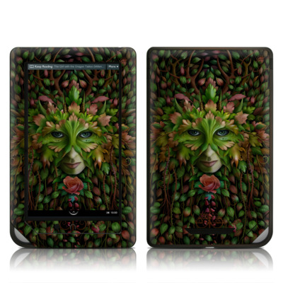 Barnes and Noble NOOK Tablet Skin - Green Woman