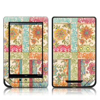 Barnes and Noble NOOK Tablet Skin - Ikat Floral