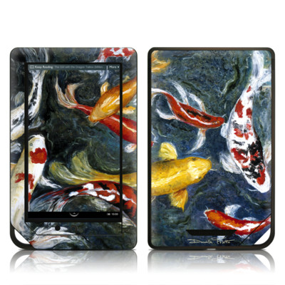 Barnes and Noble NOOK Tablet Skin - Koi's Happiness