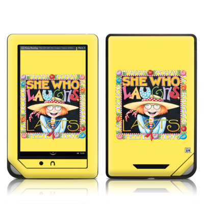 Barnes and Noble NOOK Tablet Skin - She Who Laughs