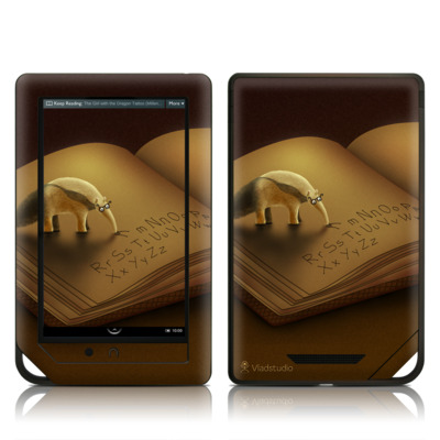 Barnes and Noble NOOK Tablet Skin - Lettereater