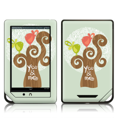 Barnes and Noble NOOK Tablet Skin - Two Little Birds