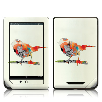 Barnes and Noble NOOK Tablet Skin - Little Bird