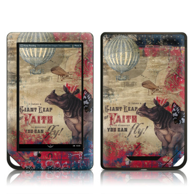 Barnes and Noble NOOK Tablet Skin - Leap Of Faith