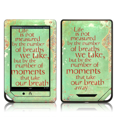 Barnes and Noble NOOK Tablet Skin - Measured