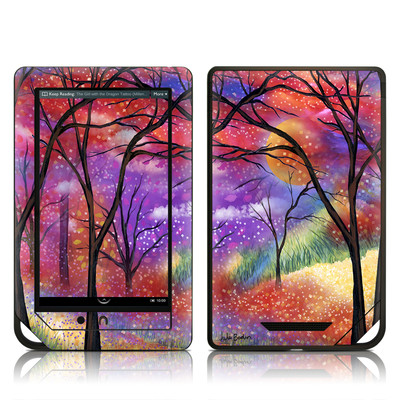 Barnes and Noble NOOK Tablet Skin - Moon Meadow