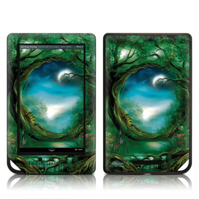 Barnes and Noble NOOK Tablet Skin - Moon Tree