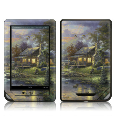 Barnes and Noble NOOK Tablet Skin - Natures Paradise