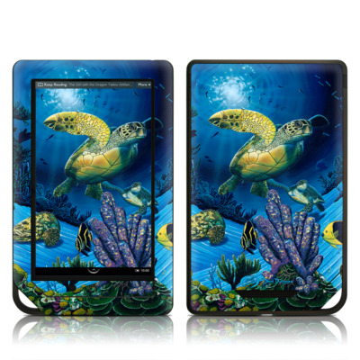 Barnes and Noble NOOK Tablet Skin - Ocean Fest