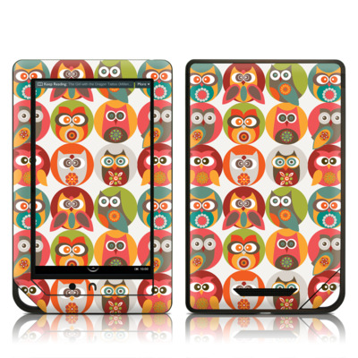 Barnes and Noble NOOK Tablet Skin - Owls Family