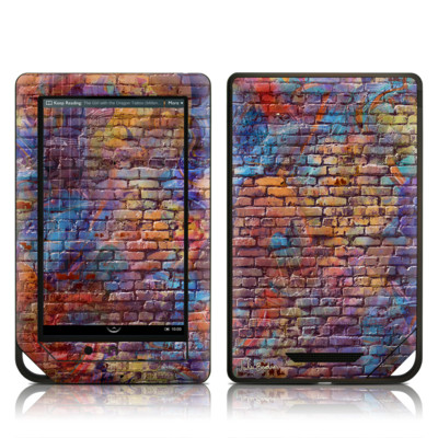 Barnes and Noble NOOK Tablet Skin - Painted Brick