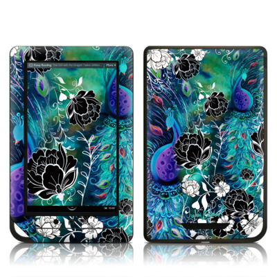 Barnes and Noble NOOK Tablet Skin - Peacock Garden