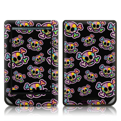 Barnes and Noble NOOK Tablet Skin - Peace Skulls