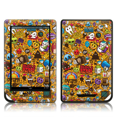 Barnes and Noble NOOK Tablet Skin - Psychedelic