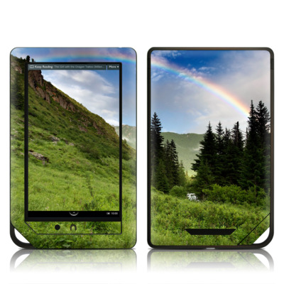 Barnes and Noble NOOK Tablet Skin - Rainbow