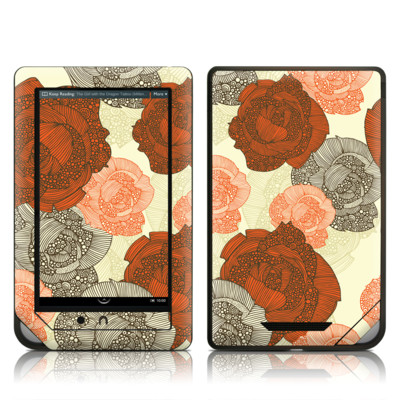 Barnes and Noble NOOK Tablet Skin - Roses
