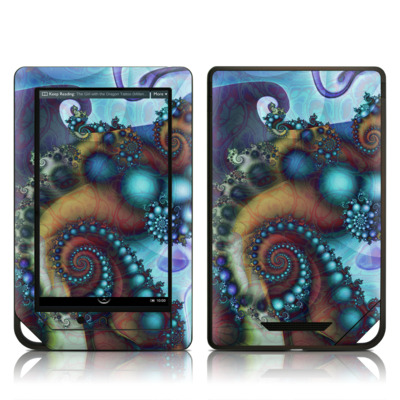 Barnes and Noble NOOK Tablet Skin - Sea Jewel