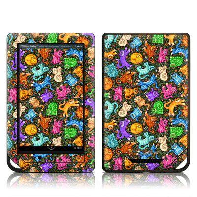 Barnes and Noble NOOK Tablet Skin - Sew Catty
