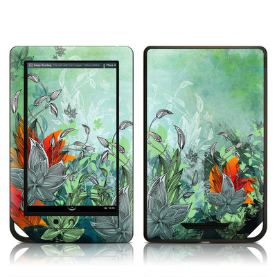 Barnes and Noble NOOK Tablet Skin - Sea Flora