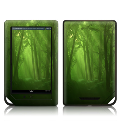 Barnes and Noble NOOK Tablet Skin - Spring Wood