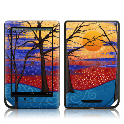 Barnes and Noble NOOK Tablet Skin - Sunset Moon