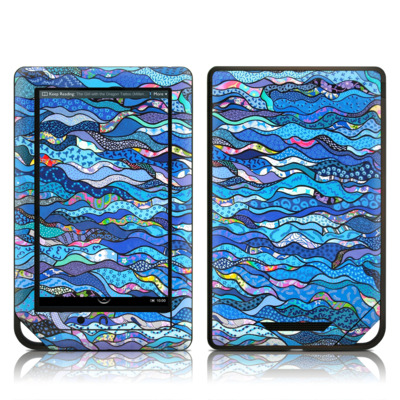 Barnes and Noble NOOK Tablet Skin - The Blues