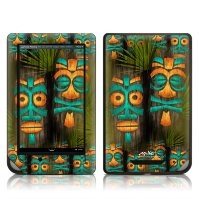 Barnes and Noble NOOK Tablet Skin - Tiki Abu