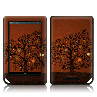 Barnes and Noble NOOK Tablet Skin - Tree Of Books